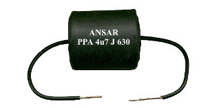 Professional Grade Audio Capacitor Components